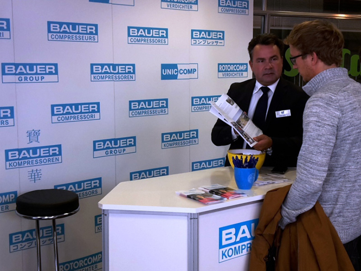BAUER GROUP at HOKO 2016, Munich